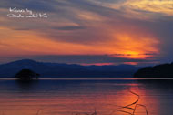 sunset at lake biwa.jpg